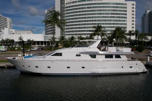 95' Elegance Yacht Port Side
