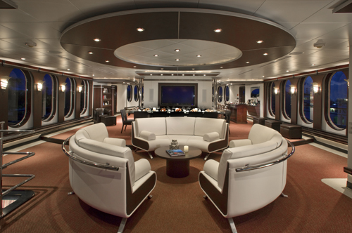 220' Allure Mega Yacht Salon Forward