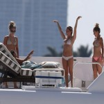 Ashley Tisdale Miami Boat Charter