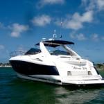 50' Sunseeker Yacht Interior