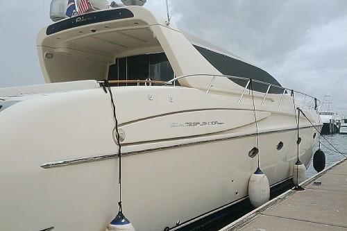 72' Riva Yacht Miami Beach Marina