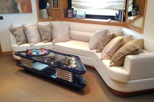72' Riva Yacht Saloon
