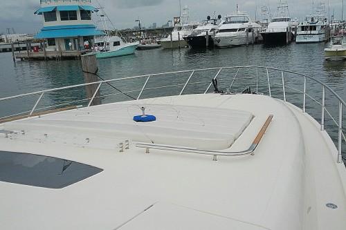 72' Riva Yacht Bow