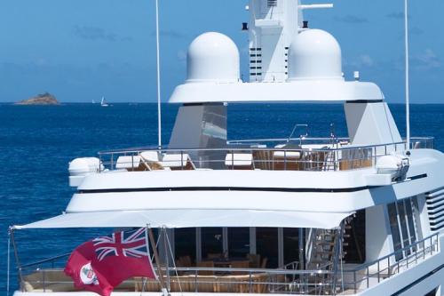 147' Feadship Yacht Stern