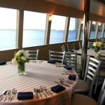 VL Party Boat Dinning Area