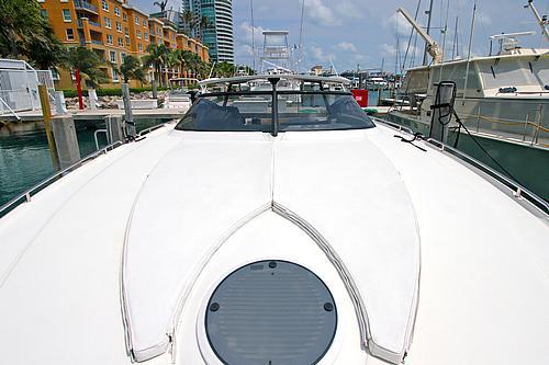 43' Baia Boat Bow