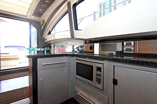 43' Marquis Boat Galley