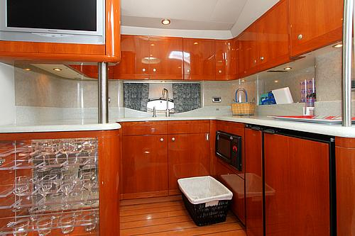 48' Formula Boat Galley