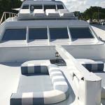 122' Ocean Fast Yacht Bow