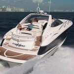 50' Sunseeker yacht Cruising