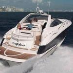 50' Sunseeker yacht Cruising