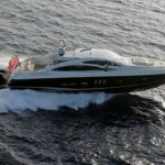 82 Sunseeker Predator Yacht Saloon