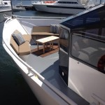 111 Sun Party Boat Bow Sitting Area