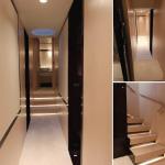 84' Azimut Yacht Stateroom Corridor