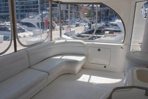 50 Sea Ray Miami Boat Rental Seating