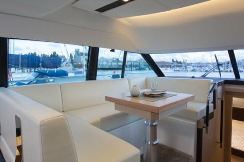 55 Prestige Yacht Charter Dinning