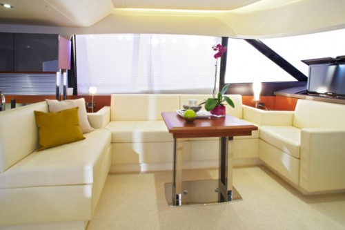 55 Prestige Yacht Charter Seating