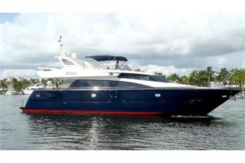 76 Horizon Miami Yacht Charter Starbord