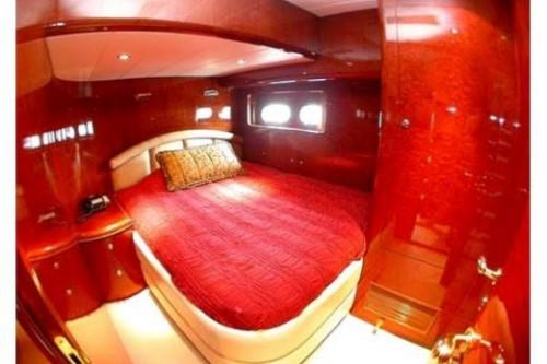 76 Horizon Miami Yacht Charter VIP Stateroom