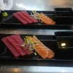 Gourmet Food Sample - Salmon Tuna Sashima