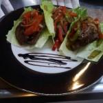 Gourmet Food Sample - Lettuce Wraps